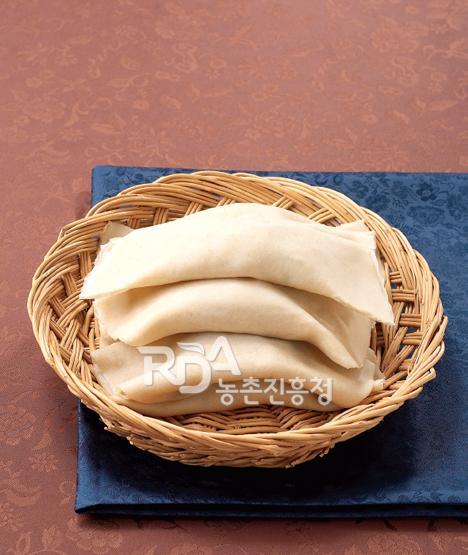 Bing tteok (Buckwheat Wraps)