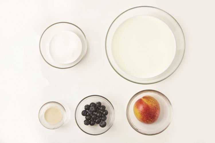 우유과일푸딩