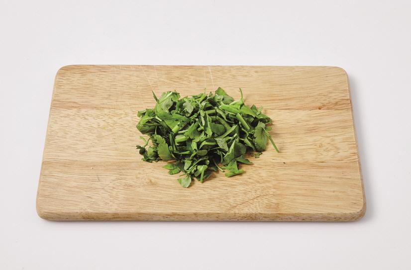 미나리두부덮밥