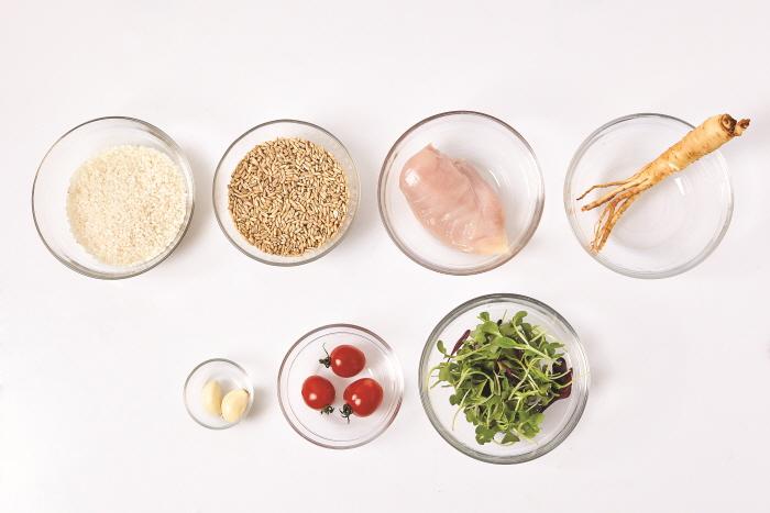 귀리영양밥