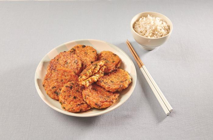 보리밥장떡