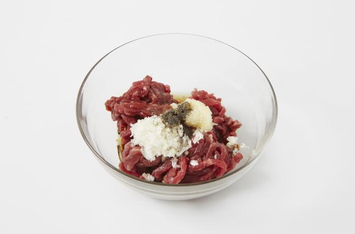 쇠고기무나물