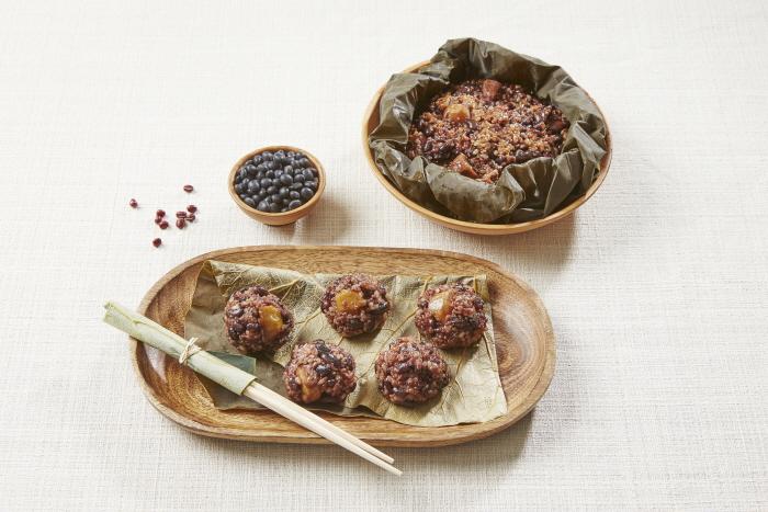 오곡연잎밥