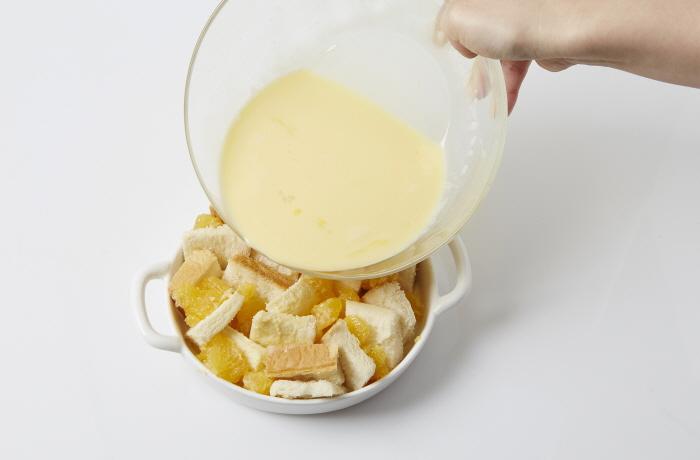 한라봉쌀빵푸딩