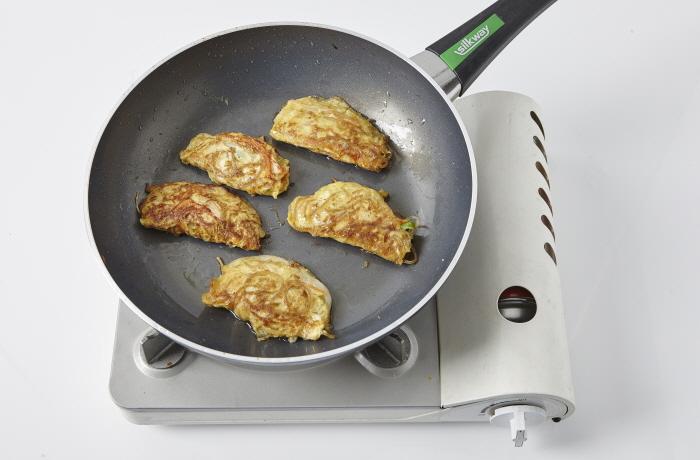 잡채달걀전(달걀만두전)