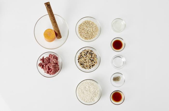 우리통밀 뿌리채소주먹밥