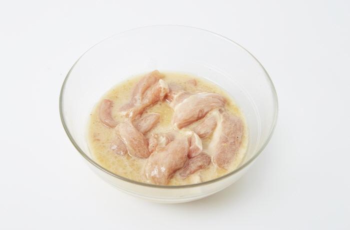 모과소스의 돼지고기튀김