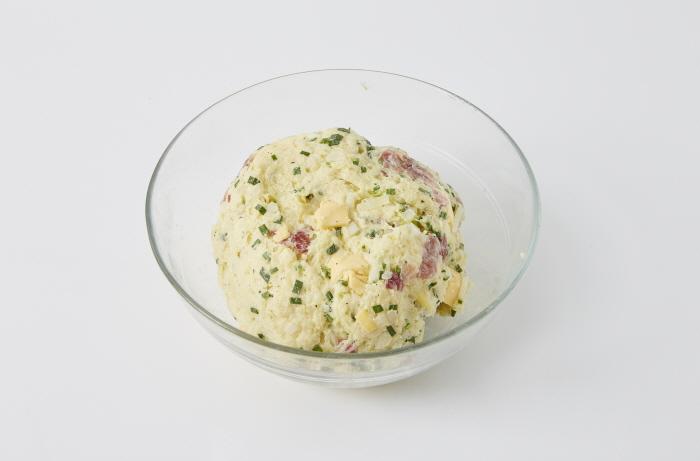 발효생햄채소스콘