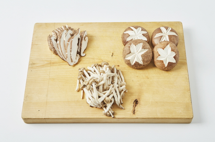 표고버섯 된장전골