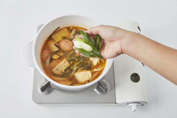 파김치 어묵국밥