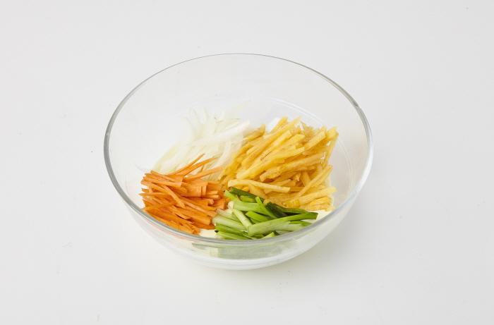 단감 채소튀김