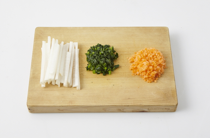 동치미 주먹밥