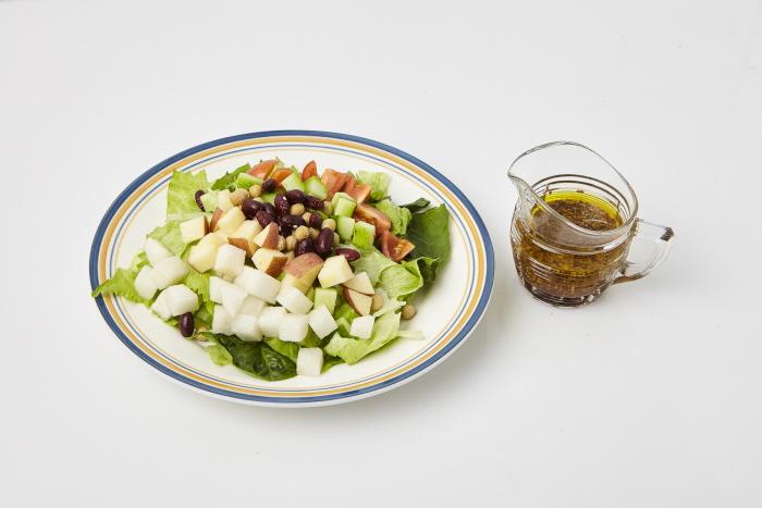 콩 과일 샐러드