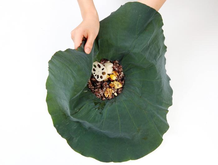 연근연잎밥