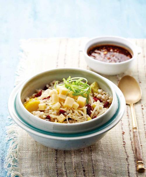 틸지터치즈간장비빔밥