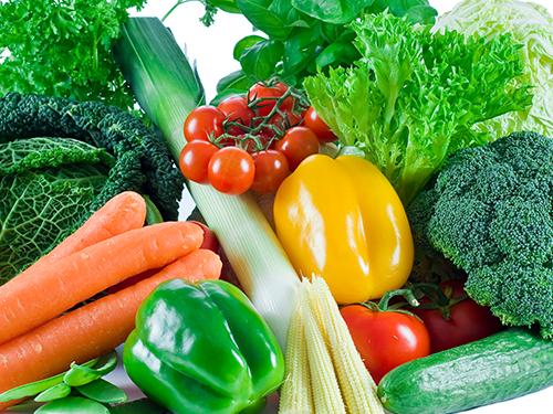 여러 종류의 채소, 해외로 한 번에 싱싱하게